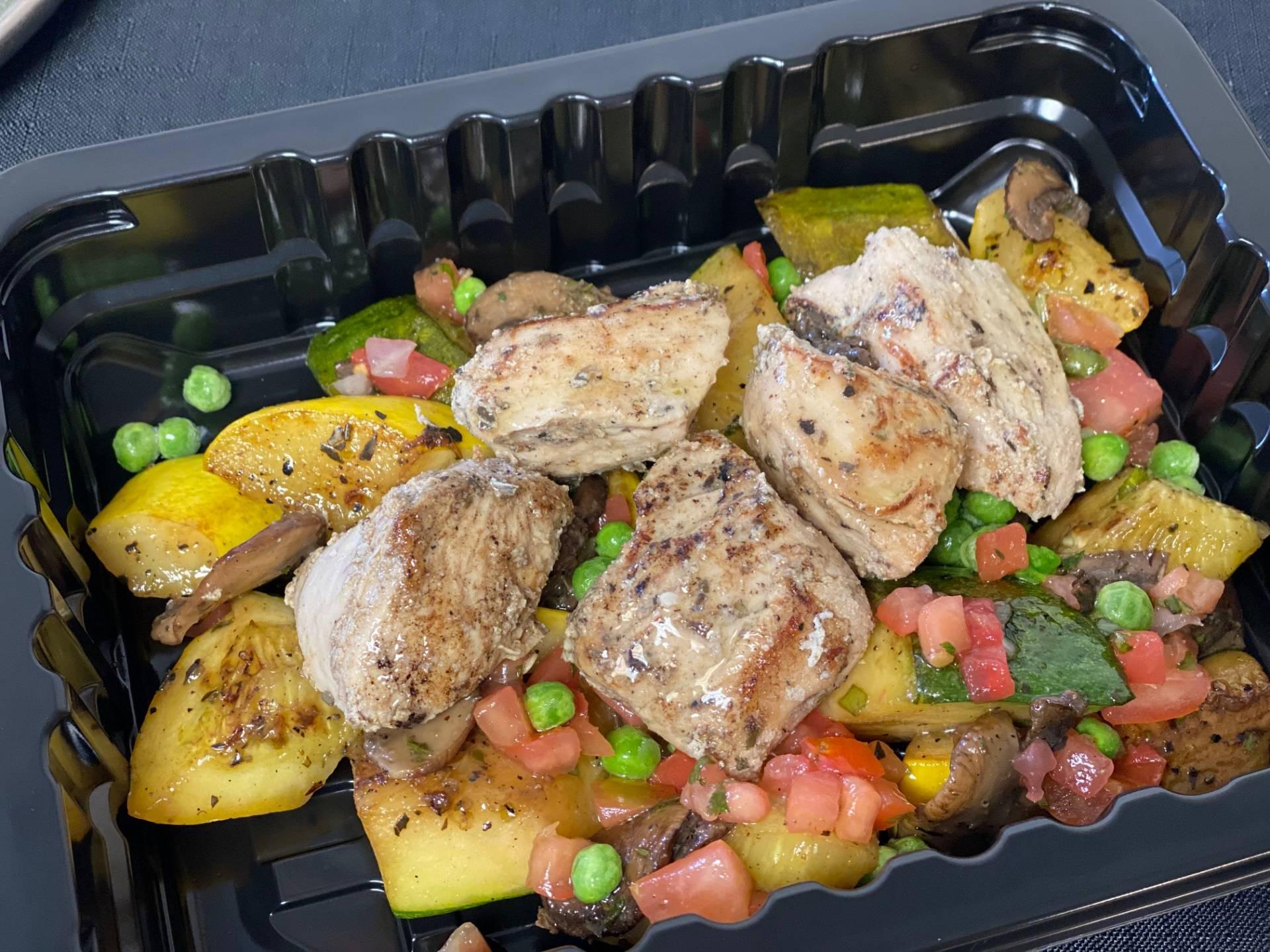 Chicken Primavera