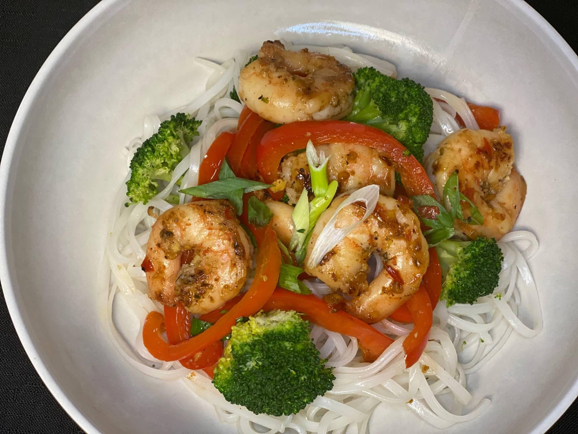 Chili-Garlic Shrimp