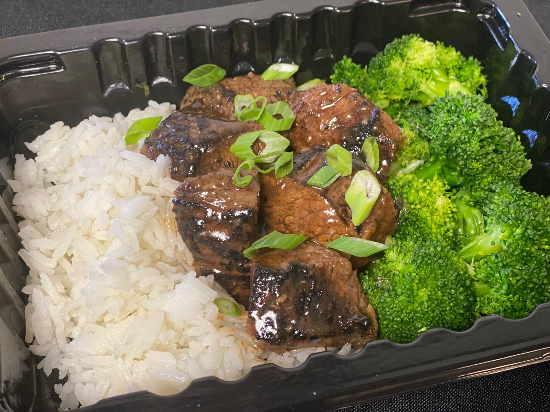 Ginger-Teriyaki Beef & Broccoli